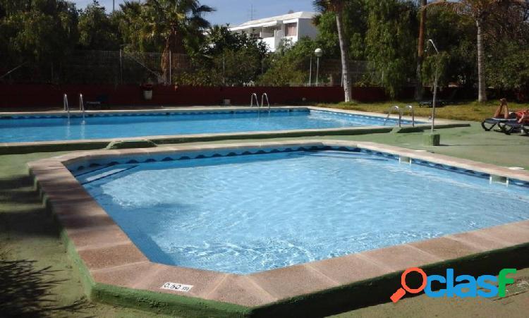 Playa las americas. duplex 2 habitaciones, 2 baños en urbanizacion cerrado de calidad..