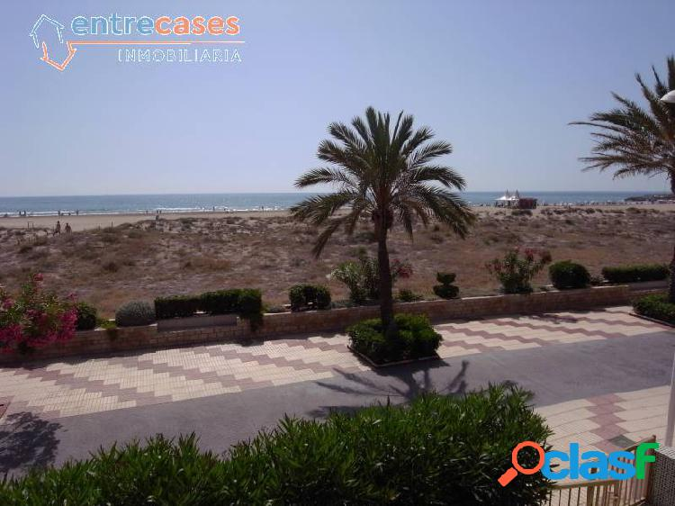 Casa primera linea de playa canet de berenguer con excelentes vistas