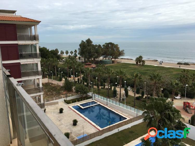 Apartamento frontal - primera linea de playa