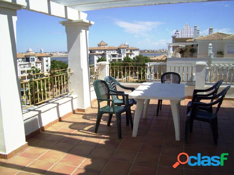 Punta del moral. primera línea de playa. gran terraza. excelentes vistas. 3 dormitorios y 2 baños