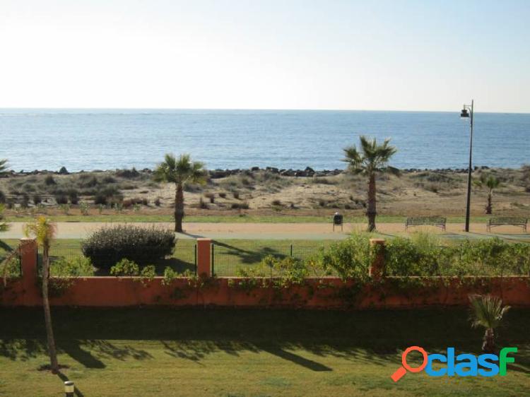 Frontal al mar. playa de isla canela. excelentes vistas. parking y trastero opcionales
