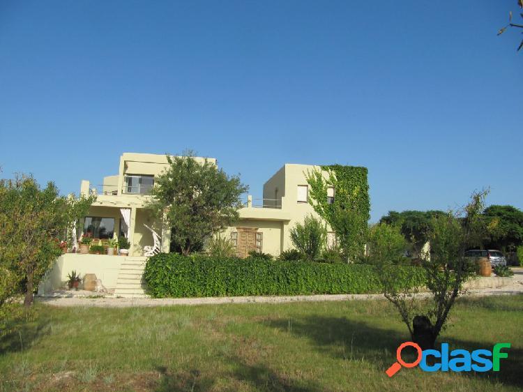 Casa con terreno y vistas al mar en dénia, la sella, costa blanca, alicante
