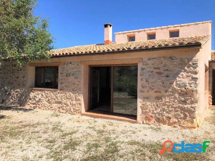 Casa rural con encanto en alpatró, vall de gallinera, marina alta, costa blanca norte