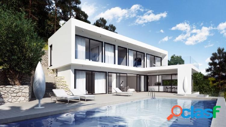 Obra nueva javea house. mansión moderna y minimalista