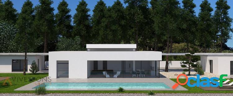 Proyecto de villa moderna en jávea, costa blanca, alicante