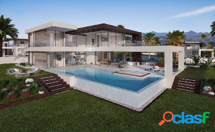 Nuevo proyecto de villas en Estepona, Cancelada.