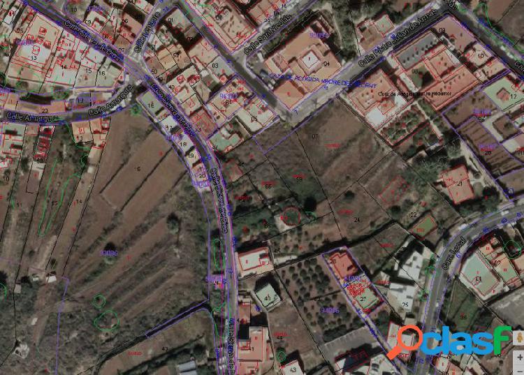 Se vende solar urbano en c/ sierva de dios 67, el sauzal