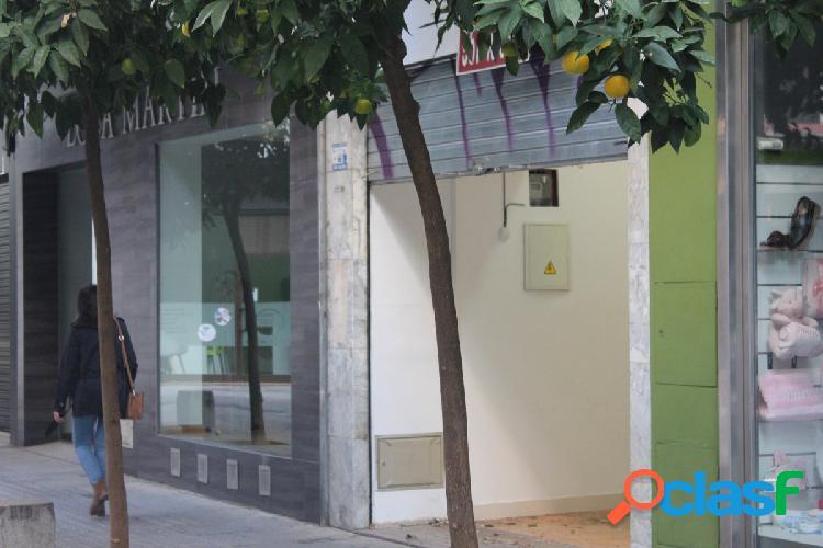 Local junto a calle cruz conde ideal para negocio
