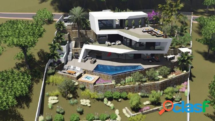 Proyecto para construir una casa de lujo con vistas al mar en benissa