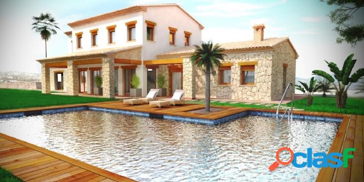 Villa con parcela de 10.500 m2 y vistas al mar impresionantes.