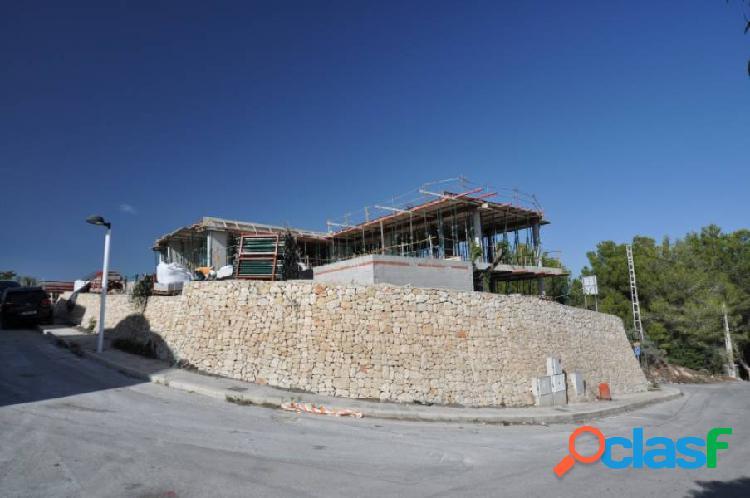 Villa muy grande con vistas al mar en benimeit - moraira