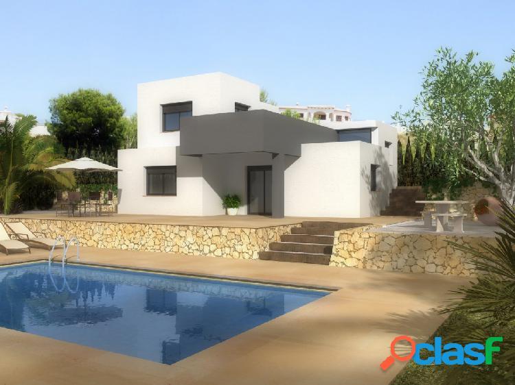 Proyecto: villa moderna en la solana en pedreguer