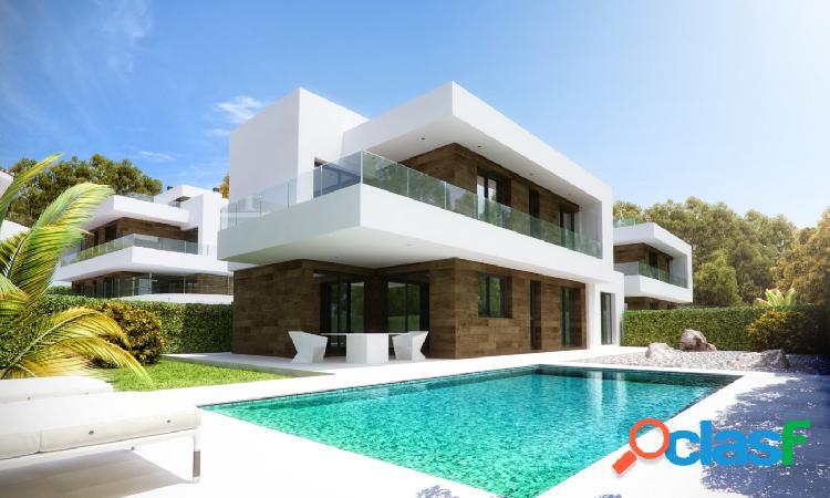 Villa independiente de estilo moderno cerca del centro de albir