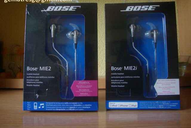 Auriculares bose mie2i mie2 para iphone y android