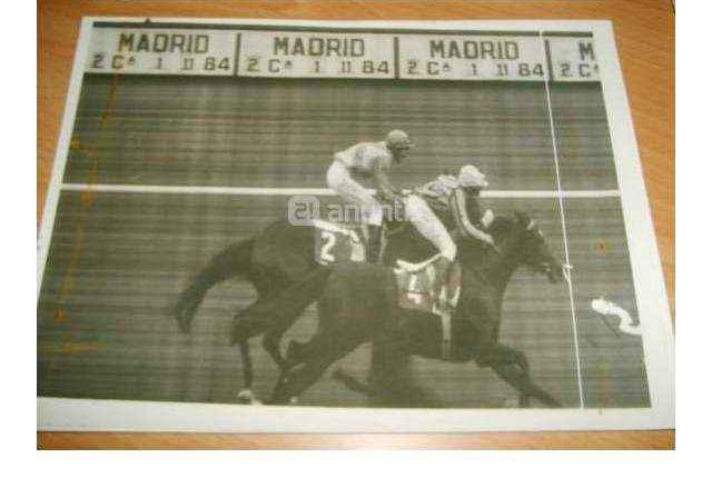 Fotos finish de carreras de caballos años 80