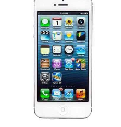 Iphone 5 6gb blanco libre