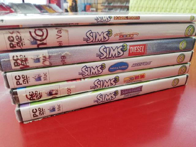 PACK 6 EXPANSIONES PARA SIMS 3 PC/MAC