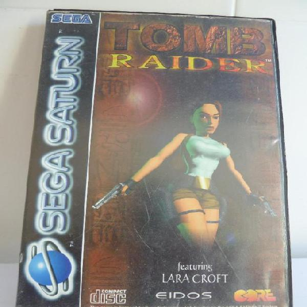 SEGA SATURN - TOMB RAIDER