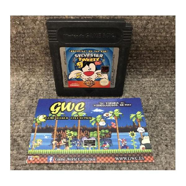 Sylvester tweety breakfast on the run·game boy color
