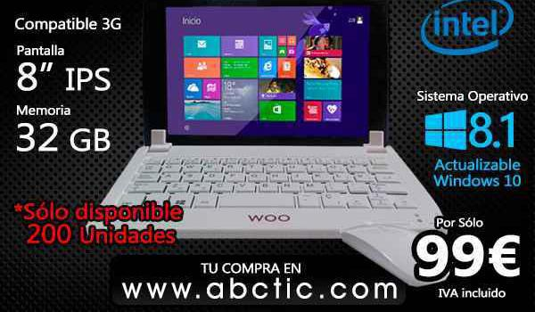Tablet pc woo 8041w quad core 8, ips 32gb