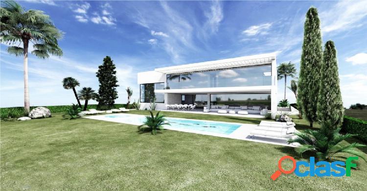 Villa familiar de nueva construcción contemporánea en venta en sotogrande