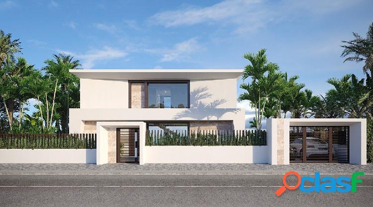 Villa Moderna con vistas al mar y las mejores calidades de construcción.