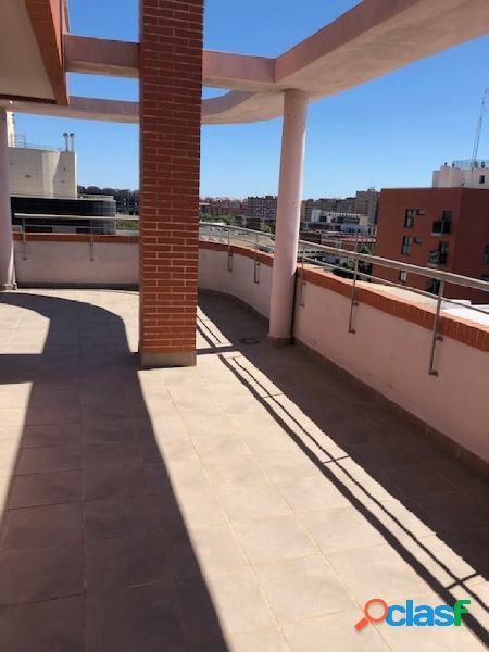 Sin comisiones, obra nueva, ático 65+100 metros terraza, único piso en toda la planta