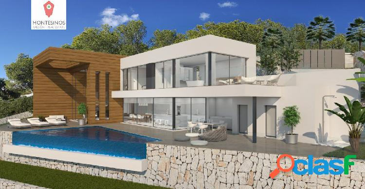 Brand new luxury villa at moraira (arnella)