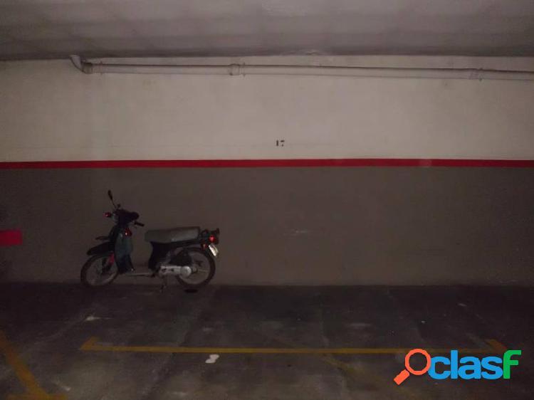 Plaza de parking en alquiler en el centro