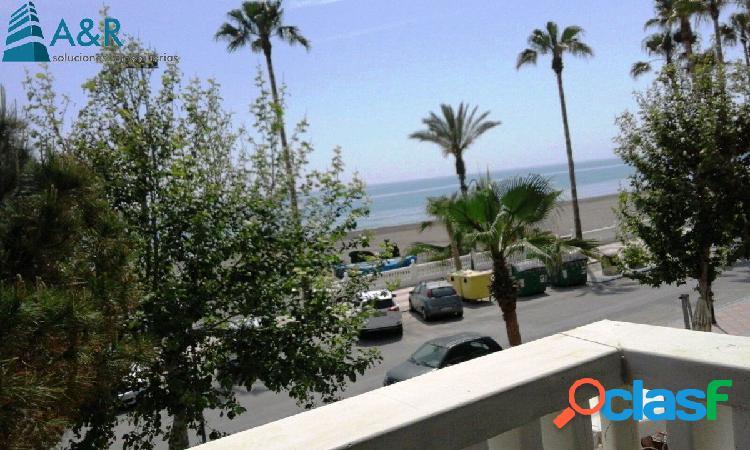 Apartamento en torrox costa, el morche, primera línea de playa