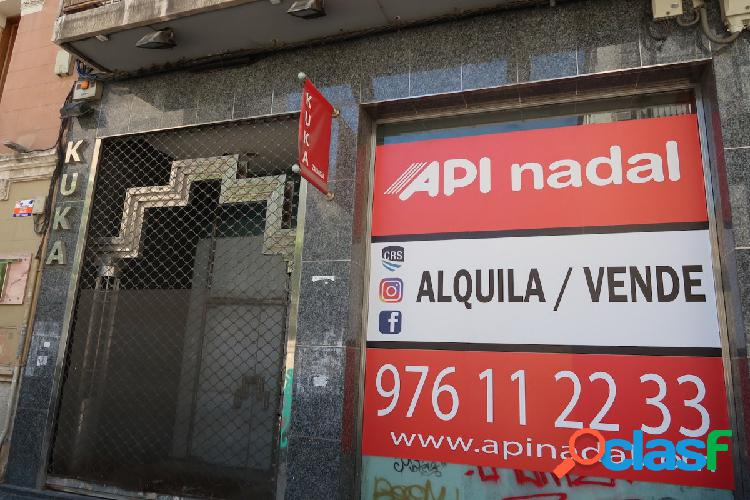 Local comercial de 430 m2 en c/ lagasca