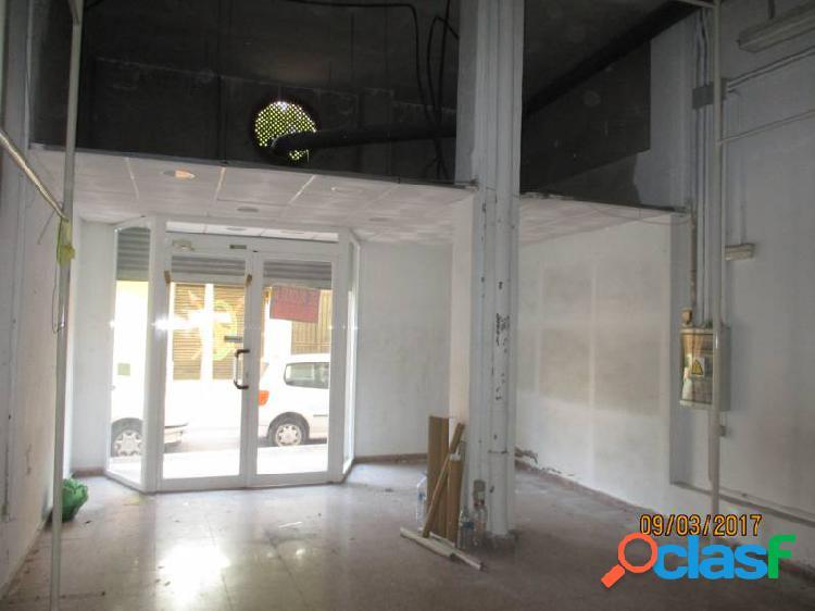 Local diáfano con 80 m2 zona centro