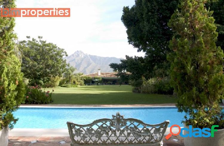 Villa de lujo en golden mile, marbella, malaga