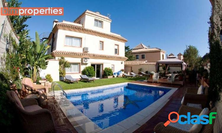 Villa cerca del paseo maritimo de san pedro de alcantara, marbella, malaga