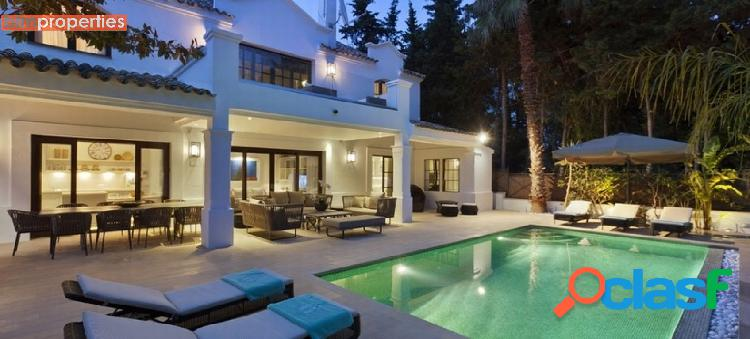 Villa en la milla de oro, marbella,malaga