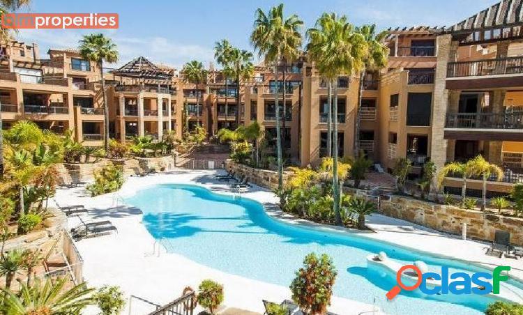 Apartamento en primera linea de playa,san pedro de alcantara,marbella,malaga