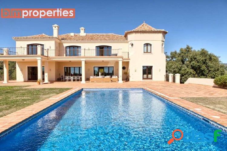 Villa de lujo en benahavis, marbella,malaga
