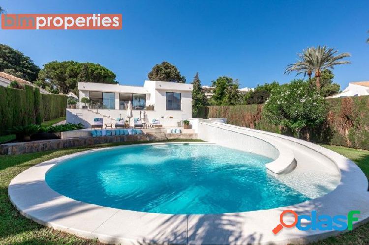 Villa diseño contemporaneo en nueva andalucia, marbella, malaga