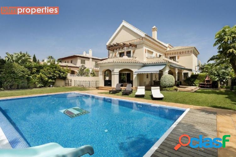 Villa en cortijo blanco, san pedro de alcantara, nueva milla de oro,marbella,malaga