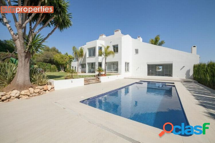Villa estilo contemporaneo en nueva andalucia, marbella, malaga