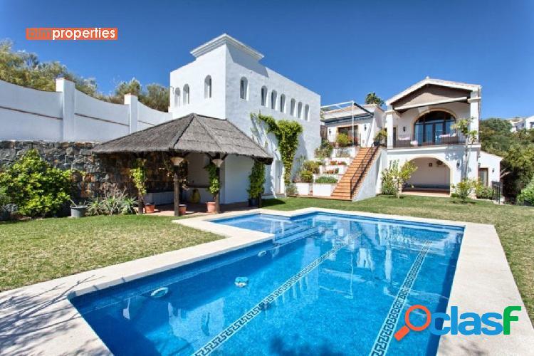 Villa con impresionantes vistas al mar, benahavis,marbella,malaga