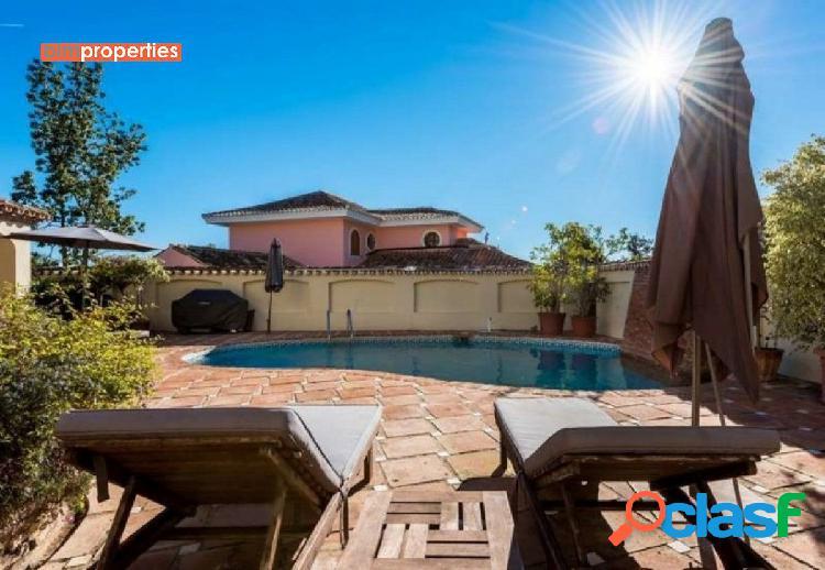 Villa con espectaculare vistas, marbella, malaga
