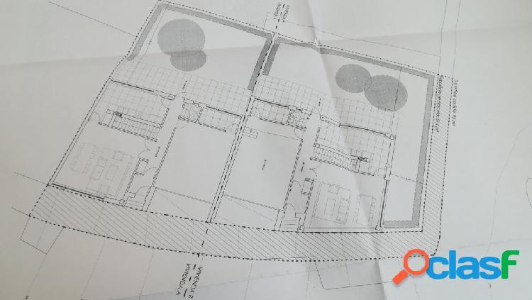 Solar urbano para 2 viviendas en as cancelas, santiago