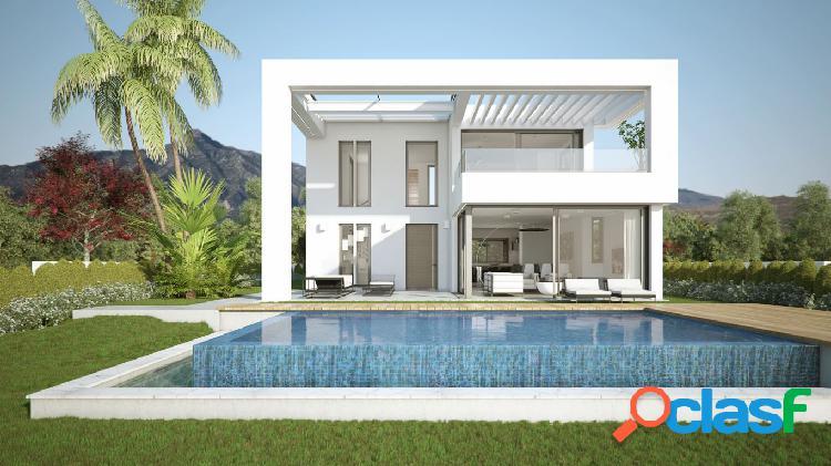 Villa nueva construccion en el higueron