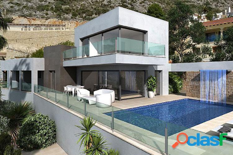 Venta - villa - moraira - 4 dormitorios + 5 baños - 289 m2 + 1000 m2 parcela