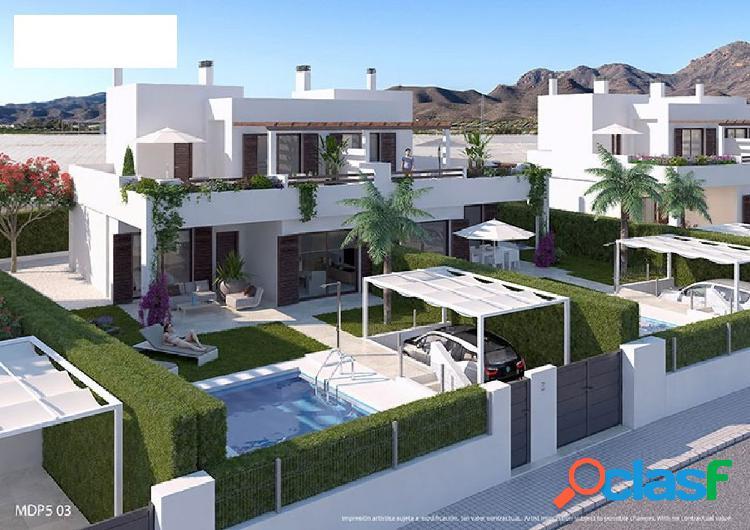 Se vende - villas - pulpí - 2/3 dormitorios - obra nueva - desde 115m2