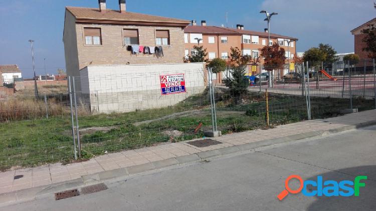 Parcelas urbanas en marcilla