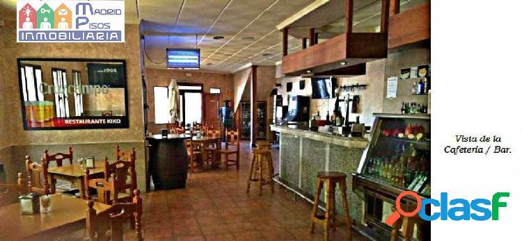 Restaurante + vivienda, en funcionamiento.