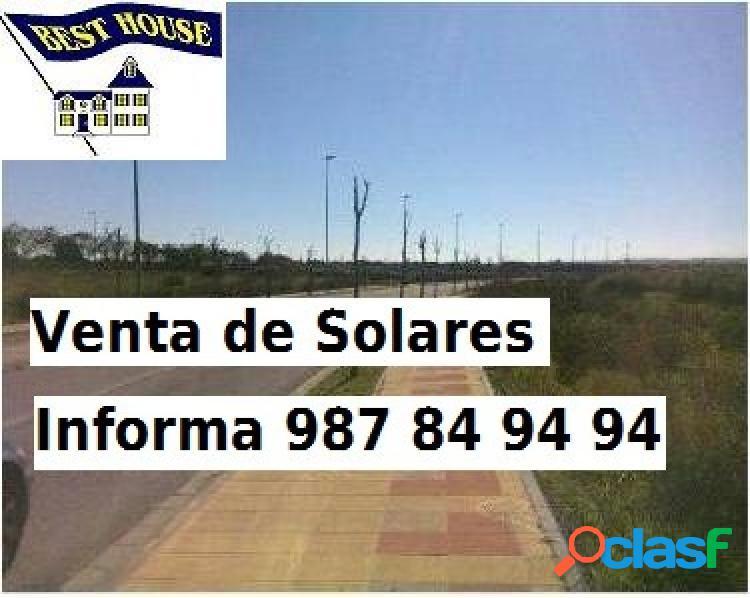 Disponemos de solares urbanos en venta en pobladura del bernesga.