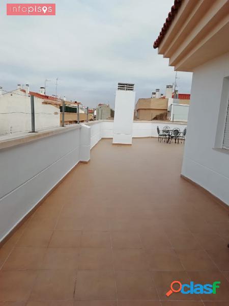 Ático duplex terraza 120 m2 fantastico vistas panoramicas
